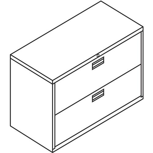 HON Brigade 600 Series 2-Drawer Lateral (692LP)