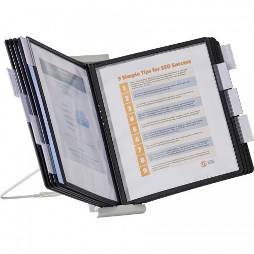 DURABLE INSTAVIEW Desktop Reference Display System (561201)
