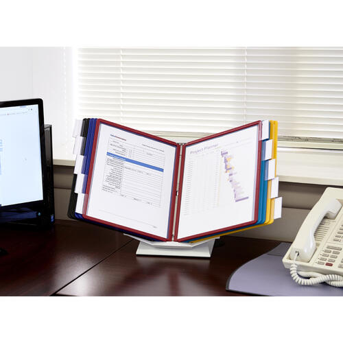 DURABLE VARIO Rotatable Desktop/Wall Mount Pro Reference Display System (551500)