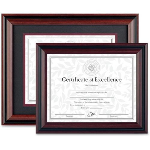 Burnes Home Accents DAX Two-Toned Document Frames (N15786NT)