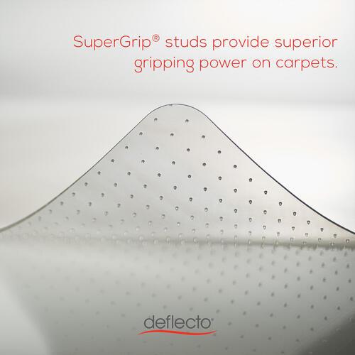 Deflecto Glass Clear DuraMat for Carpets (CM33233)