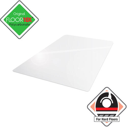 Floortex Cleartex Ultimat Hard Floor Rectangular Chairmat (128919ER)
