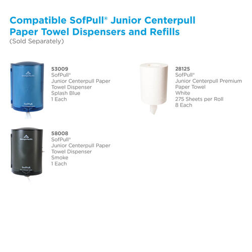 Sofpull Centerpull Junior Capacity Paper Towels by GP Pro (28125)