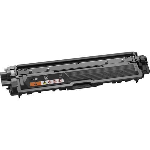Brother Genuine TN221BK Black Toner Cartridge
