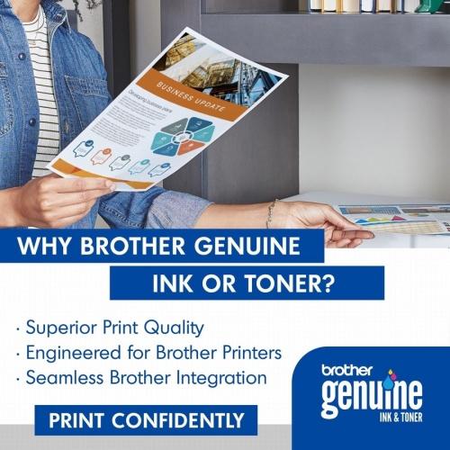 Brother Genuine TN221Y Yellow Toner Cartridge