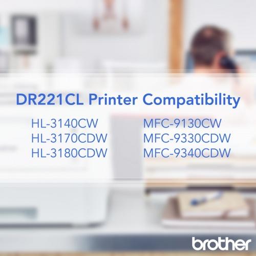 Brother Genuine DR221CL Color Laser Drum Unit