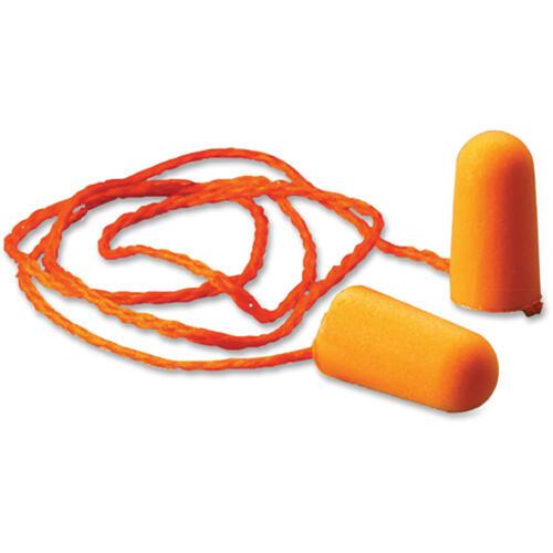 3M 1110 Corded Foam Earplugs