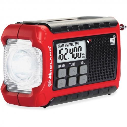 Midland Radio Corporation Midland ER210 E+Ready Compact Emergency Crank Weather Radio