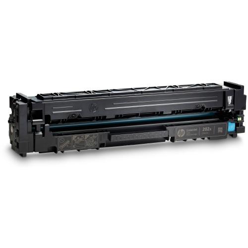 HP 202A Cyan Original LaserJet Toner Cartridge (CF501A)