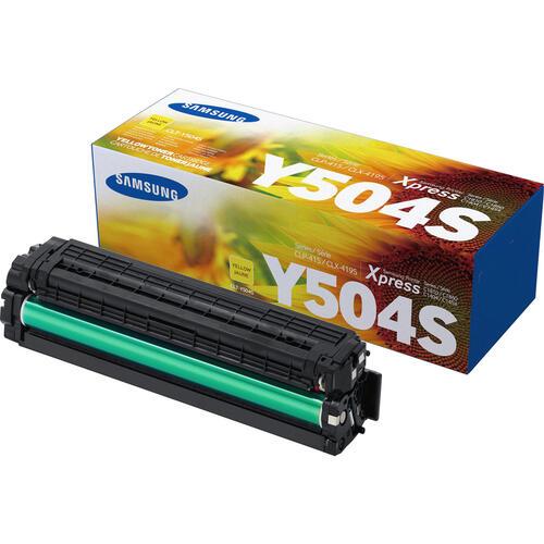 Samsung CLT-Y504S Yellow Toner Cartridge (SU506A)