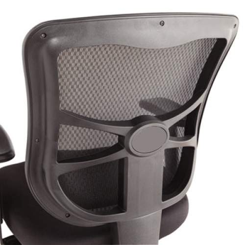 Alera Elusion Series Mesh Mid-Back Multifunction Chair, Supports up to 275 lbs., Black Seat/Black Back, Black Base (ALEEL42ME10B)