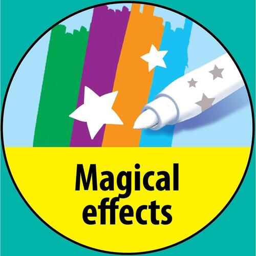 BIC Magic Effects Coloring Markers (BKCME12AST)