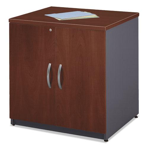 Bush Series C Collection 30W Storage Cabinet, Hansen Cherry (WC24496A)