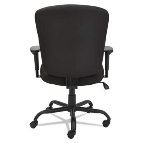Alera Mota Series Big and Tall Chair, Supports up to 450 lbs., Black Seat/Black Back, Black Base (ALEMT4510)