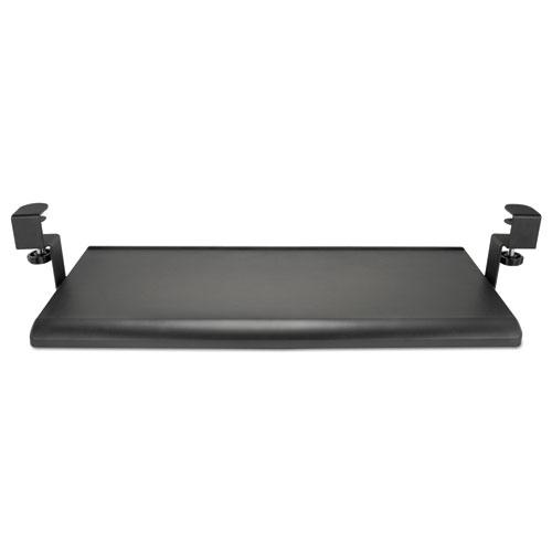 "Alera AdaptivErgo Clamp-On Keyboard Tray, 27.5"" x 12.25"", Black (ALEKBT1B)"