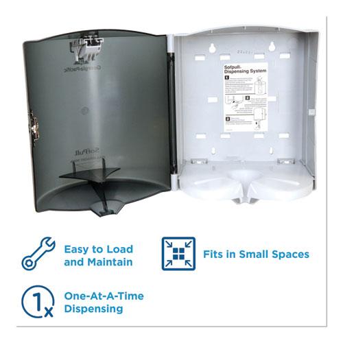 Georgia Pacific Professional Trial Kit, Dispenser, 9 5/8 x 12 1/8 x 9 3/8, Translucent Smoke (58205)