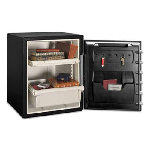 Sentry Safe Fire-Safe with Combination Access, 2 cu ft, 18.6w x 19.3d x 23.8h, Black (SFW205CWB)