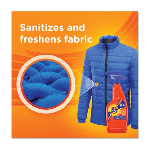 Tide Antibacterial Fabric Spray, Light Scent, 22 oz Spray Bottle, 6/Carton (76533)