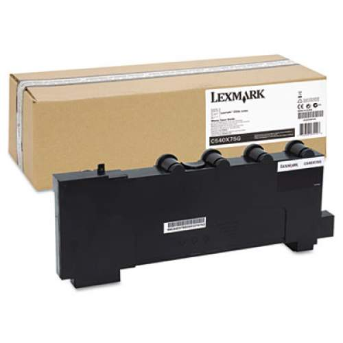 Lexmark C540X75G Waste Toner Bottle, 36000 Page-Yield
