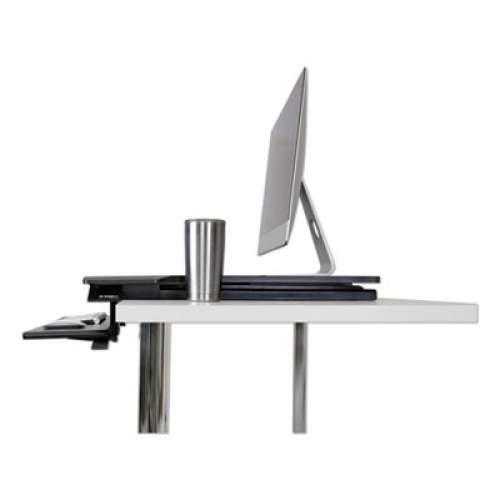 WorkFit by Ergotron WorkFit TX Standing Desk Converter, 36.6w x 33d x 19h, Black (33467921)