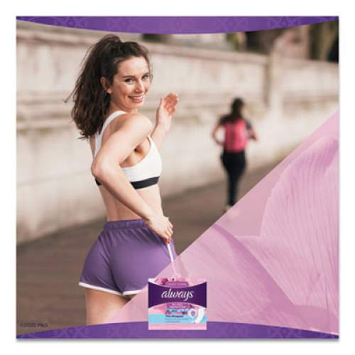 Always Thin Daily Panty Liners, Regular, 20/Pack, 24 Packs/Carton (08279)