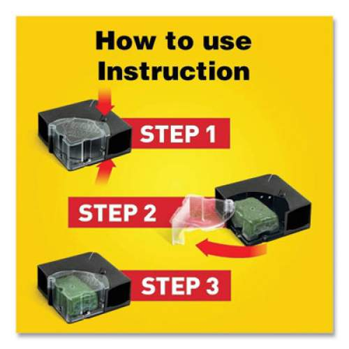 d-CON Refillable Bait Station and Refills, 1 Bait Block;5 Refills/Box, 8/Carton (98343)
