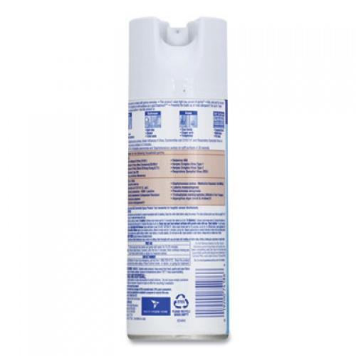 LYSOL Disinfectant Spray, Crisp Linen Scent, 12.5 oz Aerosol Spray, 12/Carton (74186)