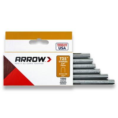 Arrow Fastener T25 Type Staples (256M)