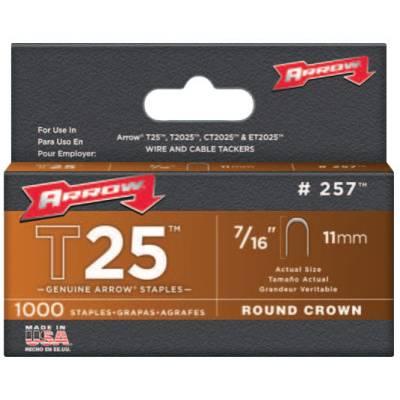 Arrow Fastener T25 Type Staples (257)