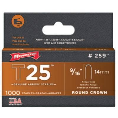 Arrow Fastener T25 Type Staples (259)