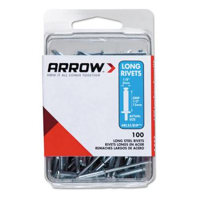 Arrow Fastener Stainless Steel Rivets (RLST1/8)