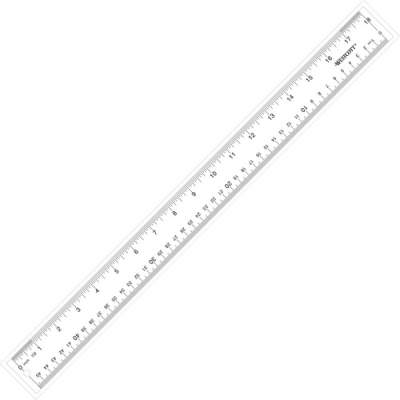Acme United Westcott See-Through Acrylic Rulers (10564)