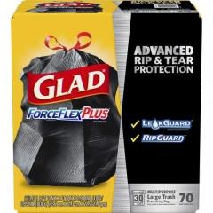 Glad ForceFlex Drawstring Large Trash Bags (70358)