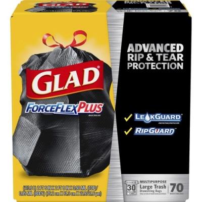 Clorox Glad ForceFlex Drawstring Large Trash Bags (70358)
