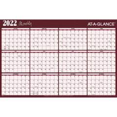AT-A-GLANCE Erasable/Reversible Horizontal Yearly Wall Planner (A152)