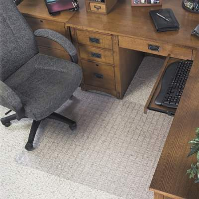 Deflecto Checker Bottom SuperMat for Carpets (CM84443F)