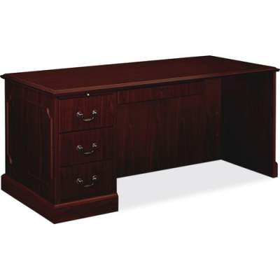 HON 94000 Series Left Pedestal Desk 66