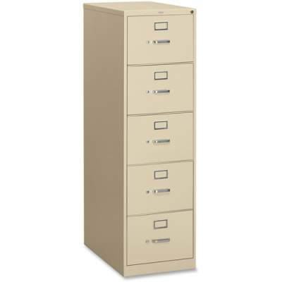 HON 310 Series 5-Drawer Vertical File (315CPL)