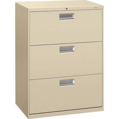 HON Brigade 600 Series 3-Drawer Lateral (673LL)