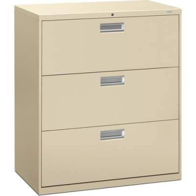 HON Brigade 600 Series 3-Drawer Lateral (683LL)