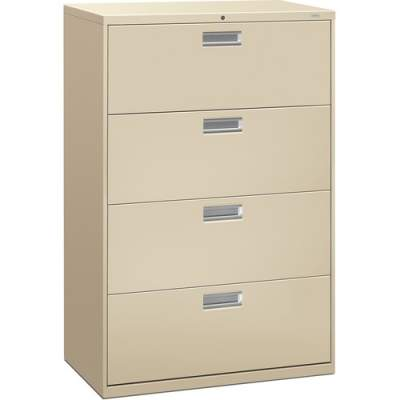 HON Brigade 600 Series 4-Drawer Lateral (684LL)