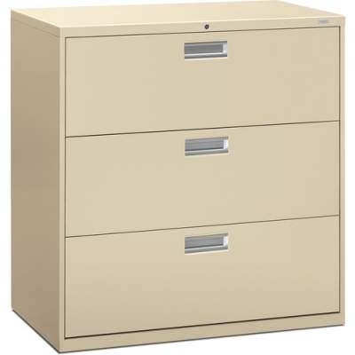 HON Brigade 600 Series 3-Drawer Lateral (693LL)