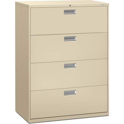 HON Brigade 600 Series 4-Drawer Lateral (694LL)