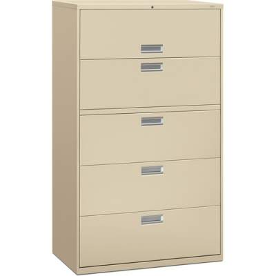 HON Brigade 600 Series 5-Drawer Lateral (695LL)