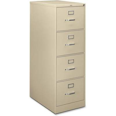 HON H320 Series 4-Drawer Vertical File (H324CL)