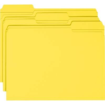 Smead Colored Folders with Reinforced Tab (12934)