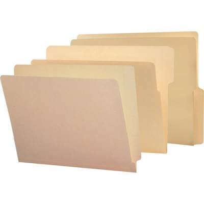 Smead End Tab Manila Folders with Shelf-Master Reinforced Tab (24109)
