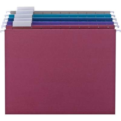 Smead Colored Hanging Folders with Tabs (64056)