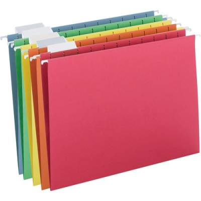 Smead Colored Hanging Folders with Tabs (64059)