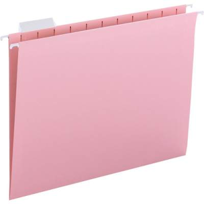 Smead Colored Hanging Folders with Tabs (64066)